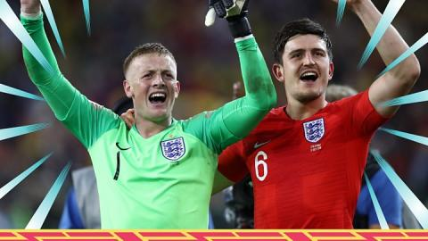 World Cup 2018: England penalties win over Colombia seen by 24m