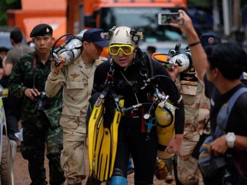 Thai cave rescue to get Hollywood treatment