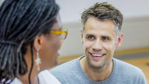 Richard Bacon thanks his wife on last full day in hospital