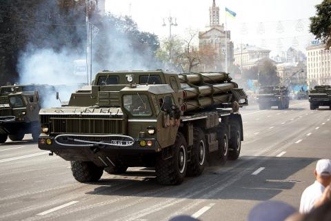 Ukrainian army conduct regular tests of MRLS Smerch
