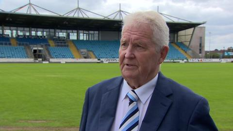 Ballymena United anger over race car pitch damage
