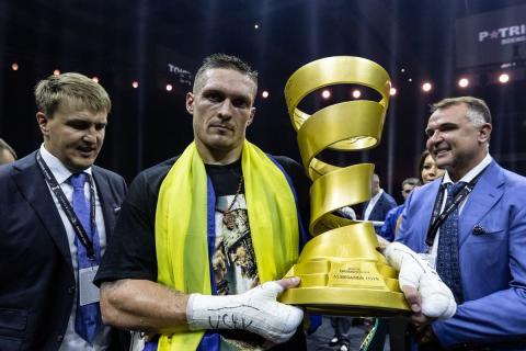 Boxing: The Ring includes Usyk to Top-10