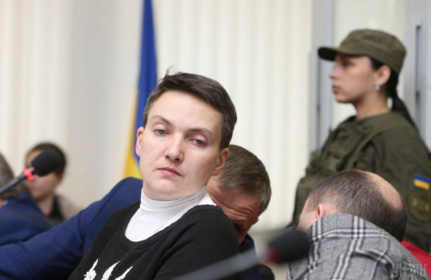 Savchenko refuses from polygraph test