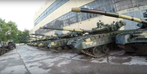 Defense Ministry to check military property stored at Kharkiv tank factory