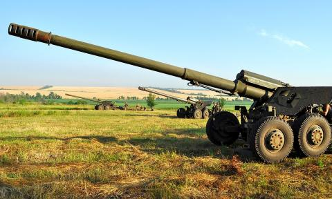 Ukrainian army test new mines, artillery shells