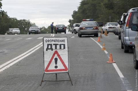 Triple road accident in Lviv region: Eight people injured