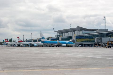 Construction of new section of Zhuliany airport's international terminal begins