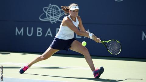 Johanna Konta reaches third round of Silicon Valley Classic