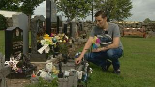 Dad warns over mementoes for dead son
