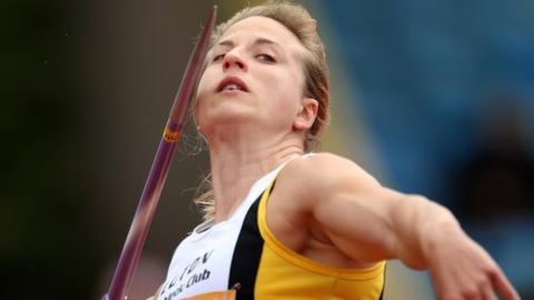 Joanna Blair: Great Britain javelin thrower banned for four years