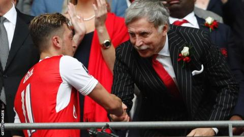 Arsenal's Stan Kroenke makes offer to buy whole of London club
