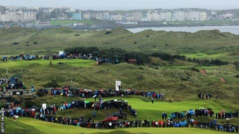 2019 Open Championship: Tickets for Sunday play at Royal Portrush sold out