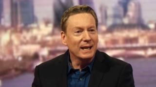 BBC's Frank Gardner left stuck on Heathrow plane for a second time