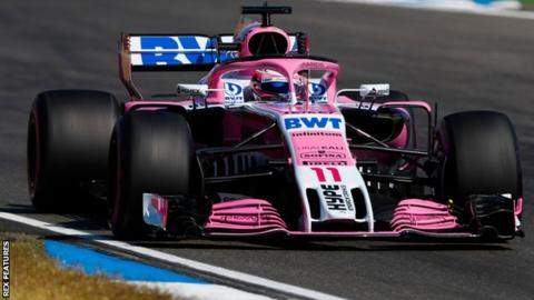 Force India: Formula 1 team to come out of administration
