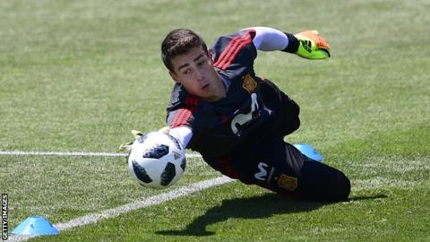 Kepa Arrizabalaga: Athletic Bilbao goalkeeper pays?71m release clause ahead of Chelsea move