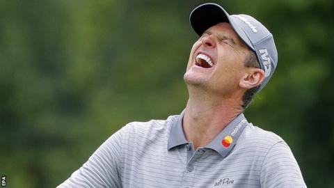 US PGA Championship: Justin Rose playing 'semi-blind' without practice round