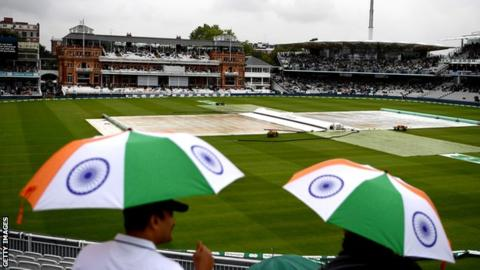 England v India: Rain delays start of second Test at Lord's