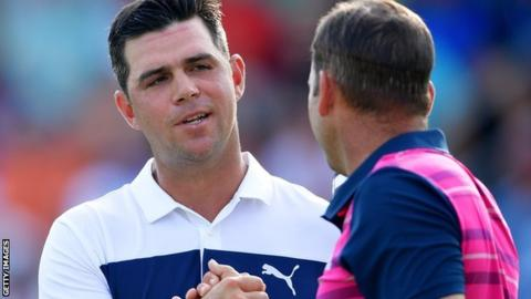 US PGA Championship: Gary Woodland leads ahead of Rickie Fowler, Ian Poulter, Justin Rose & Dustin Johnson