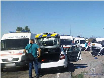 Deadly car accident near Zaporizhia: Number of victims increased to seven