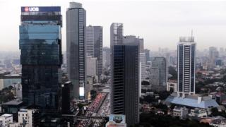 Jakarta, the fastest-sinking city in the world