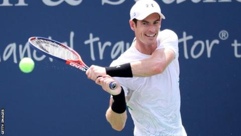 Cincinnati Masters: Andy Murray out in first round after Lucas Pouille defeat
