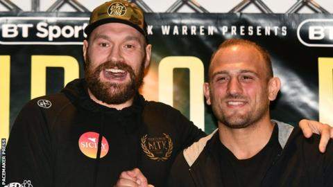 Tyson Fury: British heavyweight says