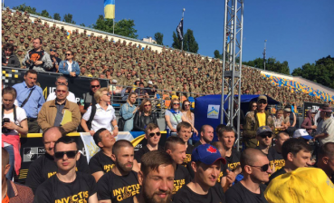Open training for Invictus Games 2018 held in Ukraine