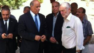 Jeremy Corbyn 'unaware' of militant group figure