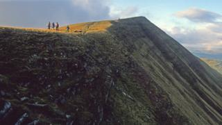 Missing 5ft sees Welsh mountain downgraded to hill