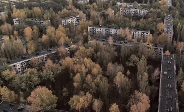 British band Suede films video in Chernobyl Exclusion Zone