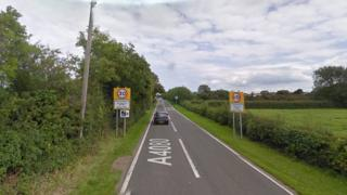 Woman killed and three injured in Anglesey crash
