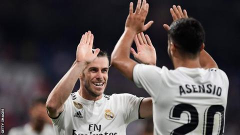 Gareth Bale scores as Real Madrid beat Getafe 2-0 on opening weekend