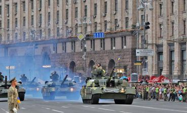 Military parade for Ukraine