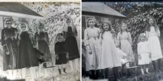 Mystery photographs found in car-boot sale box