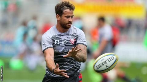 Danny Cipriani: Gloucester fine England fly-half?2,000 after nightclub incident