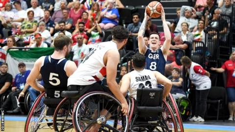 Wheelchair Basketball World Championships: GB men beat USA in final
