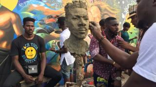 Chale Wote art festival takes over Ghana's capital, Accra