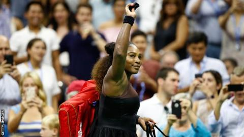 US Open 2018: Serena Williams through with first-round victory over Magda Linette
