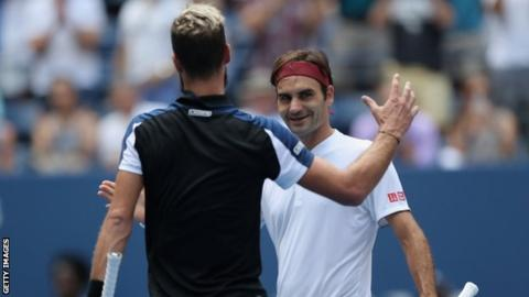 US Open 2018: Roger Federer beats Benoit Paire to reach third round