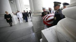 John McCain memorial: Washington pays homage