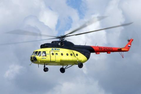 Helicopter crashed in Russia, 18 people died, - media