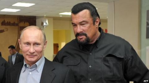 Steven Seagal appointed Special Representative of Russian Foreign Ministry