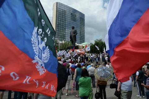 "Pro-Russian militants cancel autumn ""election"", - mass media"