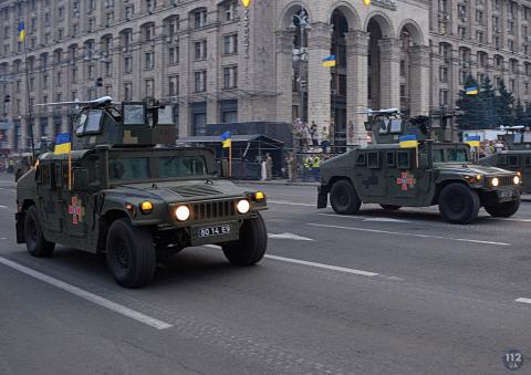 Ukraine's most spectacular military parade for the Independence Day