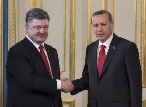 Erdogan congratulates Ukraine on Independence Day