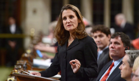 Canada's Foreign Minister cancels visit to Ukraine
