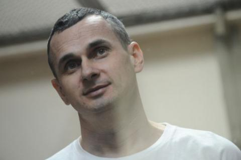 Prague residents hold rally to support Sentsov