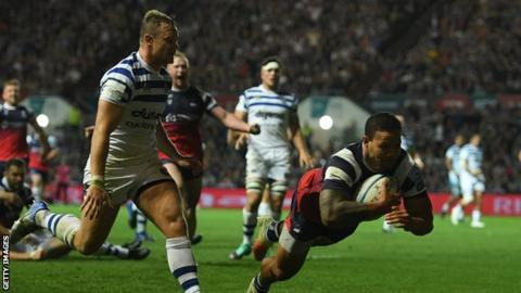 Premiership: Bristol Bears 17-10 Bath in season opener
