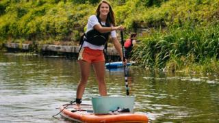 London plastic campaigner to paddle the Hudson River