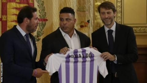 Ronaldo: Former Brazil striker buys controlling stake in Real Valladolid
